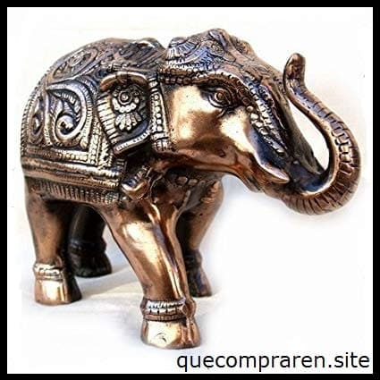 artesania india elefante en metal