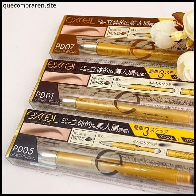 comprar Excel Powder & Pencil Eyebrow en japon