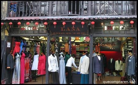 Comprar ropa en Vietnam