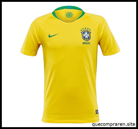 Camiseta de fútbol de Brasil