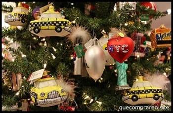 Comprar adornos de navidad en Nueva York