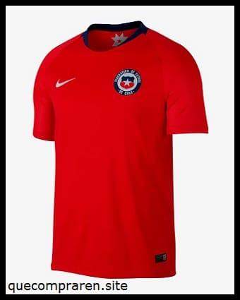 Camiseta de fútbol de Chile