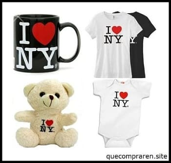 Comprar recuerdos I love New York