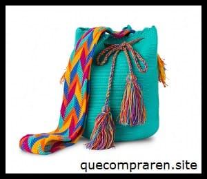Una mochila Wayuu como souvenir