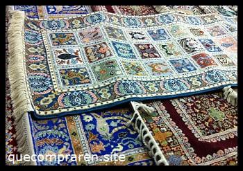 Hermosas alfombras y tapetes