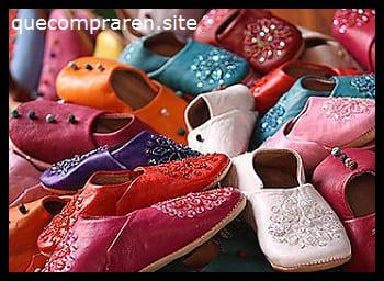 Las tradicionales zapatillas babouche