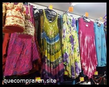 Comprar ropa en la India