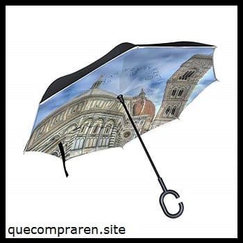 Los tradicionales paraguas